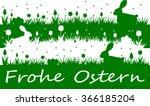 easter meadow  german... | Shutterstock .eps vector #366185204