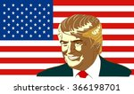 january 18  2016  a vector... | Shutterstock .eps vector #366198701