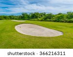Sand Bunkers At The Beautiful...
