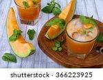 Fresh Cantaloupe Juice With...