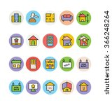 real estate vector icons 1 | Shutterstock .eps vector #366248264