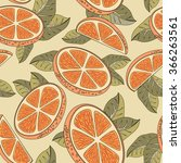 vintage seamless pattern with... | Shutterstock . vector #366263561