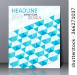 abstract digital business... | Shutterstock .eps vector #366271037
