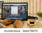 chiang mai  thailand  jan 23... | Shutterstock . vector #366278075