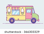 vector illustration of colorful ... | Shutterstock .eps vector #366303329