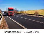 truck on the road | Shutterstock . vector #366353141