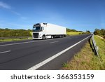 truck transportation on the road   Shutterstock . vector #366353159