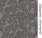 vector seamless black and white ... | Shutterstock .eps vector #366358505