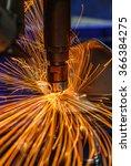 industrial welding automotive... | Shutterstock . vector #366384275