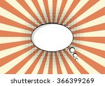 cartoon speech pop art bubble... | Shutterstock .eps vector #366399269