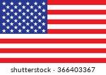 american flag | Shutterstock .eps vector #366403367