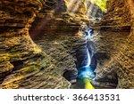 watkins glen state park... | Shutterstock . vector #366413531