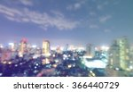 light bokeh of view bangkok at... | Shutterstock . vector #366440729