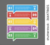 vector arrows lines info... | Shutterstock .eps vector #366478601