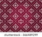 vector vintage border frame... | Shutterstock .eps vector #366489299