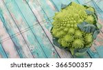 romanesco broccoli or roman... | Shutterstock . vector #366500357