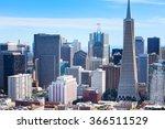 panorama of san francisco...   Shutterstock . vector #366511529