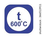 temperature icon | Shutterstock .eps vector #366513911