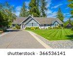 custom built luxury house with... | Shutterstock . vector #366536141