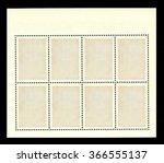 vintage blank postage stamp on...   Shutterstock . vector #366555137