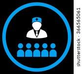 medical class vector icon.... | Shutterstock .eps vector #366565061