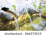 Stone Source Of Drinking Water...