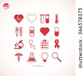 medical icons | Shutterstock .eps vector #366578375