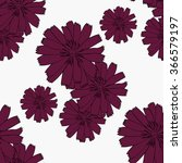 seamless  vector floral pattern | Shutterstock .eps vector #366579197