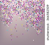 confetti  new year's... | Shutterstock .eps vector #366582509