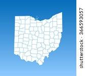 map of ohio   Shutterstock .eps vector #366593057