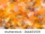 geometric pattern triangle... | Shutterstock . vector #366601535
