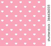 Seamless Polka Dot Hearts...