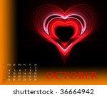october   Shutterstock . vector #36664942