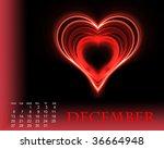 december | Shutterstock . vector #36664948