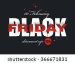 black friday sale design.... | Shutterstock .eps vector #366671831