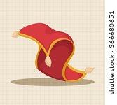 fairytale aladdin story theme... | Shutterstock .eps vector #366680651