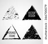 grunge rubber texture stamp... | Shutterstock .eps vector #366700079