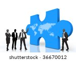 business people | Shutterstock .eps vector #36670012