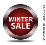winter sale button isolated | Shutterstock . vector #366706781