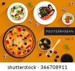 food illustration  ... | Shutterstock .eps vector #366708911