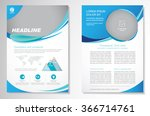 vector brochure  layout... | Shutterstock .eps vector #366714761