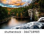 Cane Creek Falls In Fall Creek...