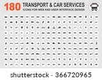 car service and some types of... | Shutterstock .eps vector #366720965