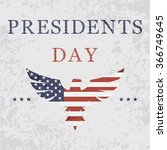 Presidents Day Background With...