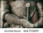 Blurred Image Of Knight Armor...