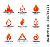 fire  2  | Shutterstock .eps vector #366756161