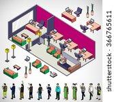 illustration of info graphic... | Shutterstock .eps vector #366765611