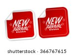 new arrival stickers | Shutterstock .eps vector #366767615