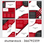 set of vector design of the... | Shutterstock .eps vector #366792359