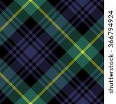 Gordon Tartan Fabric Texture...